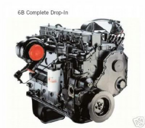 12 valve cummins turbo diesel engine Image