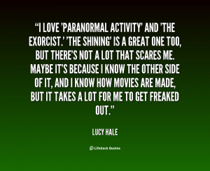 Quotes About the Paranormal