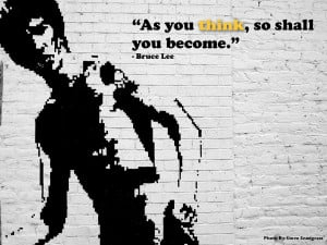 Bruce Lee Quotes Art