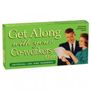 Get Along With Your Co-Workers Gum - Whimsical & Unique Gift Ideas for ...