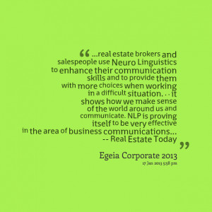 Quotes Picture: real estate brokers and salespeople use neuro ...