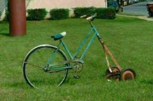 Funny Lawn Mower Grass...