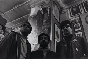 Stokely Carmichael, LeRoi Jones, and H. Rap Brown in Michaux's ...