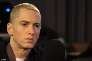 ... could have taken another path...went another direction,' said Eminem