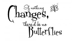 , there'd be no butterflies. Vinyl wall art Inspirational quotes ...