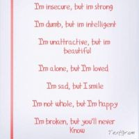 Insecure Jealous Love Quote