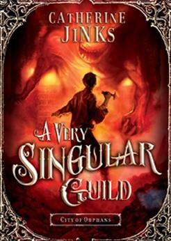 """Start by marking """"A Very Singular Guild (City of Orphans, #3)"""" as ..."""