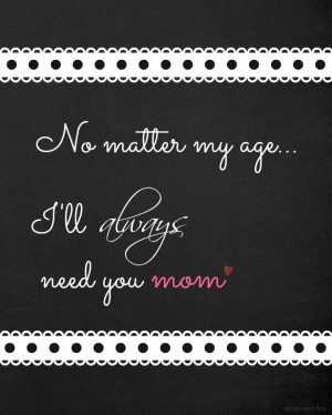 Mother's Day Chalkboard Printable 8 x 10 from Fox Hollow Cottage
