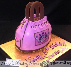 Juicy Couture Cake Bag