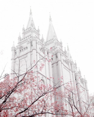 Salt Lake Temple. Such a beautiful picture.