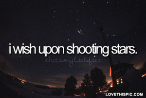 Shooting Star Love Quotes Pic #13