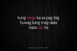 Posted under Tagalog quotes