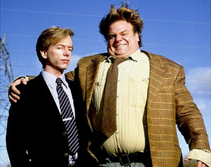 Chris Farley and David Spade in 'Tommy Boy.'
