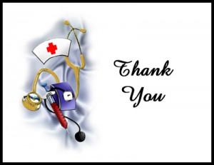 Nurses Thank You Messages