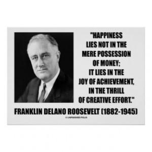 Franklin Roosevelt Posters & Prints