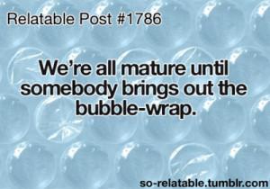 Bubble Wrap AHAHA