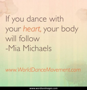 Quotes dance