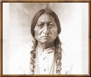 "The famous Indian chief ""Sitting Bull"" was one of the best known ..."
