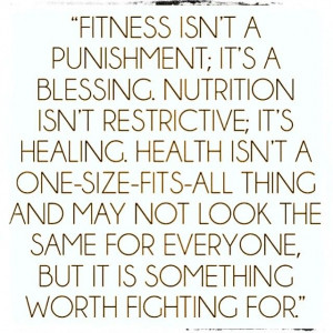 Fitness. Nutrition. Health.