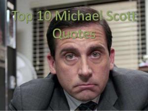 top 10 michael scott quotes
