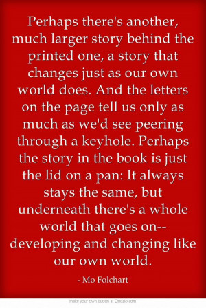 Mo Folchart Quote from Inkheart by Cornelia Funke: Another much ...