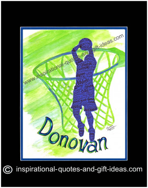 ... the most inspirational basketball sayings and personalized basketball
