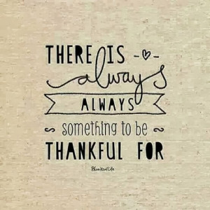 ... enough to have a job and that is something to be very thankful for