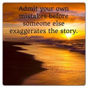 Admit your own mistakes | Poopsie