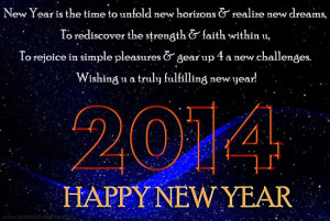 Happy New Year Greeting 2014-New Year Wallpaper-Quotes-New Year Wishes