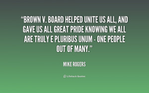 Brown vs Board of Education Quotes