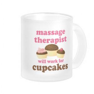 Funny Job Chocolate Massage Therapist Coffee Mugs