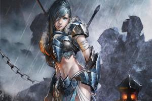 Alpha Coders Wallpaper Abyss Fantasy Women Warrior 263623