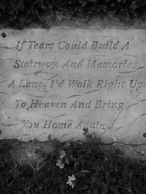 In memory of my uncle and grandma and grandpa