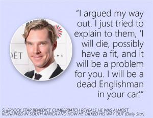 Benedict Cumberbatch's quote #2