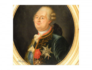 Home > ITEMS SOLD > HSP portrait of Louis XVI, King of France, 18th