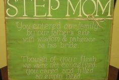 Stepmom Quotes ~ Five Mother's Day Quotes