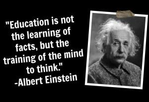 Einstein Quotes Fish Insanity Technology