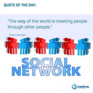 quote about social networking