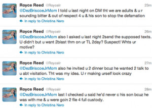 ... Basketball Wife' Royce Reed Battles Dezmon Briscoe's Baby Mama