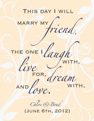 Custom Wedding Poem Digital Print Gift 8 x 10 by DIGITALTOASTER, $19 ...