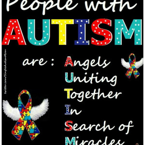 People with Autism. ..