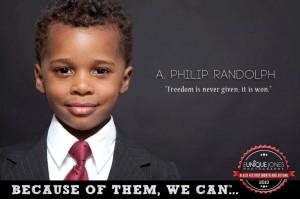 ... Philip Randolph) The March On Washington was organized by A. Philip