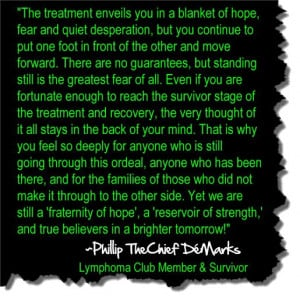 Cancer Survivor Victory Quotes