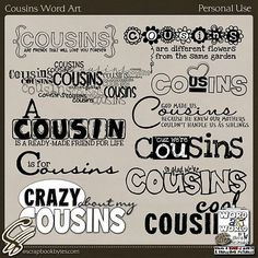 quotes for scrapbooking cousins quotes scrapbooking image search ...