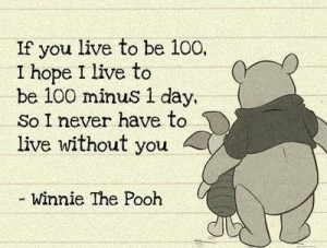 cute, piglet, pooh, quote, sweet, text, typography, winnie the pooh