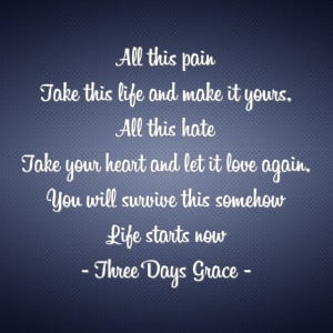 Quote Three Days Grace