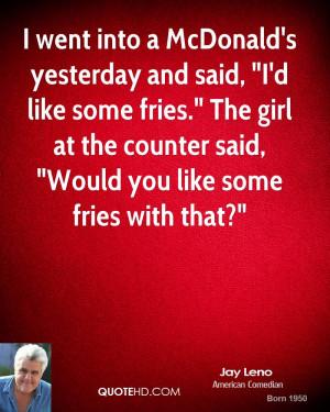 Funny Mcdonalds App