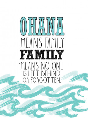 Lilo and stitch inspirational quote by studiomarshallarts on Etsy
