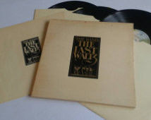 1978 - UK Pressing - The Band - The Last Waltz- Complete Triple LP ...