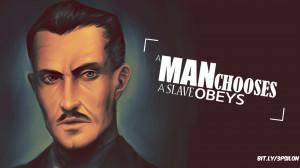 Video Game - Bioshock 3psilon Famous Famous Quotes Andrew Ryan Andrew ...